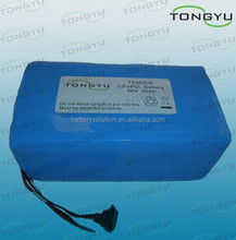 5 - 10C LiFePO4 12S 36V 20Ah BMS Lithium Iron Phosphate Battery For Mountain bike