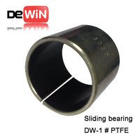 Factory supplied drawing customized rubber metal sleeve bushing / spindle sleeve