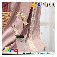 chenille blackout pure color french style- hotel quality/ living room bedroom curtain cushion using