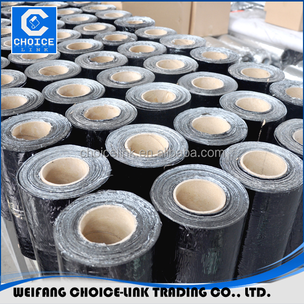 adhesive roofing tape/bitumen adhesive roofing tape (OEM service )/self adhesive bitumen waterproof membranes