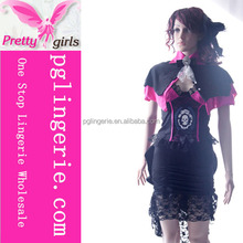 Halloween costume suppliers wholesale black sexy xxxl pirate costumes women