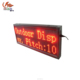 Red /white/blue color led moving Scrolling Electronic display sign