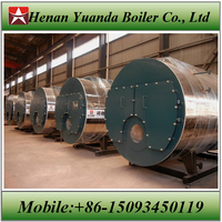 Industrial price of Oil/Gas fired 2ton steam boiler