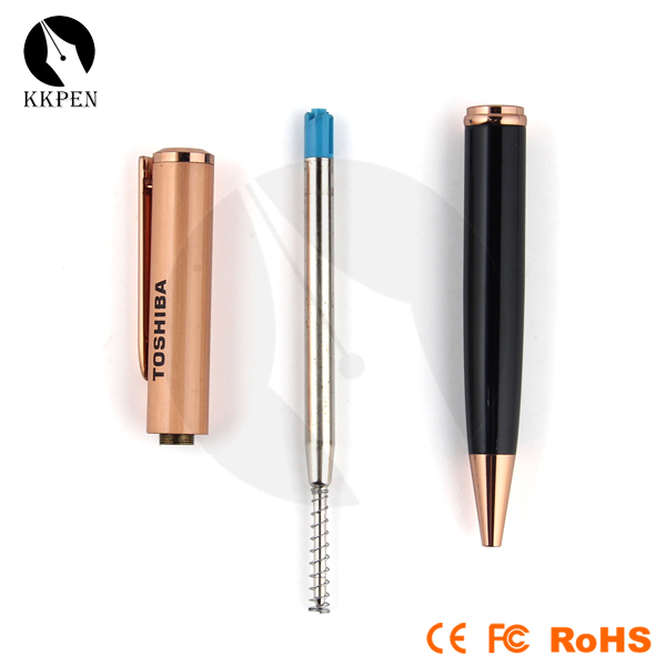 Jiangxin 2014 new mini hiddren cello smooth pens with led light