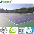 multi-color optional sport court top coat paint hard tennis court cover