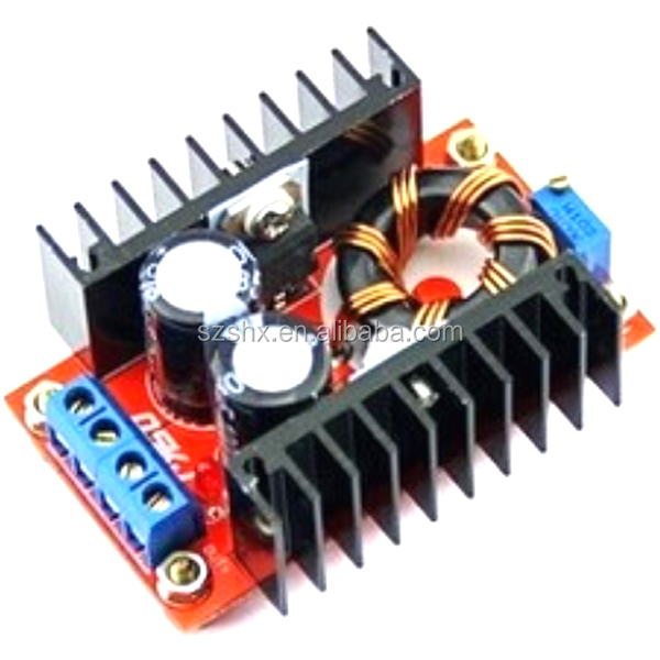 150W Step-Up Power Converter 10-32v 12v to 12-35v 24v 18v 19v 16v 15v dc to dc boost converter for laptop ,cars