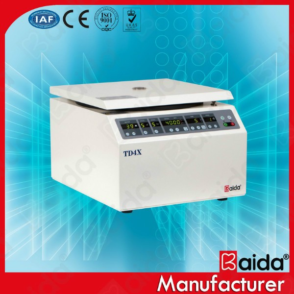 TD4X Low speed benchtop blood bank centrifuge