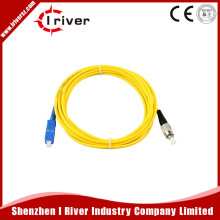 Fiber Optic Patch Cord, SC-FC 3.0m ,Single-mode Single Fiber optic jumper 3.0mm Jumper Cable