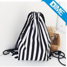 Custom Organic Cotton Fabric Drawstring Shoe Bag