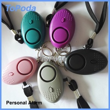 2017 Factory offer led light personal attack alarm