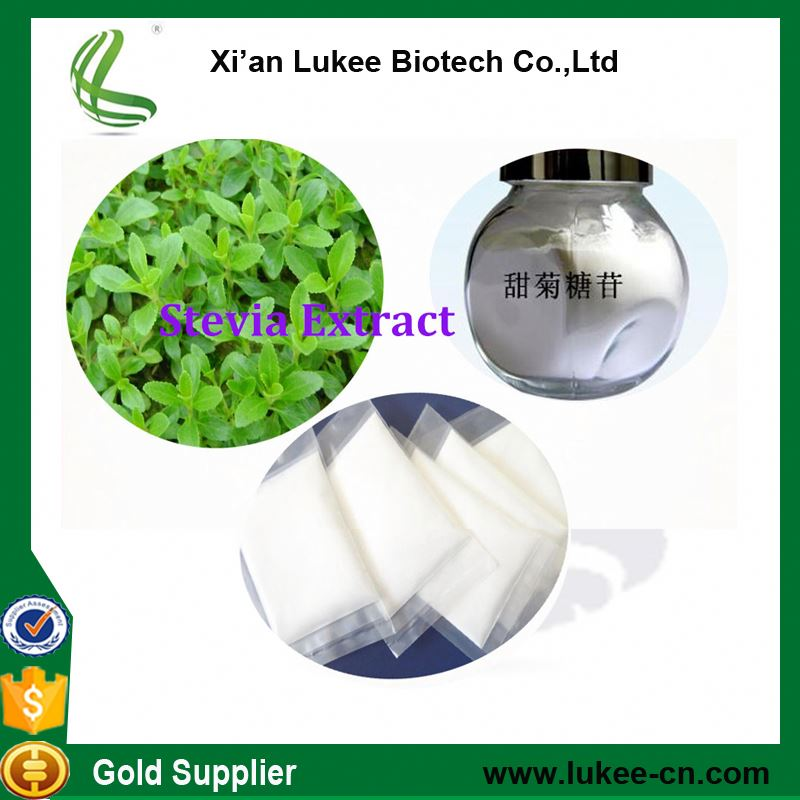 Natural Safety food addtive Stevia Leaf Extract Powder / Stevia Water Extract / 80%~90% Steviosides