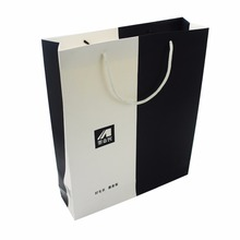 china supplier custom made shopping paper packaging bag for clothes