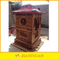 Wooden Niche for a statue of the Buddha