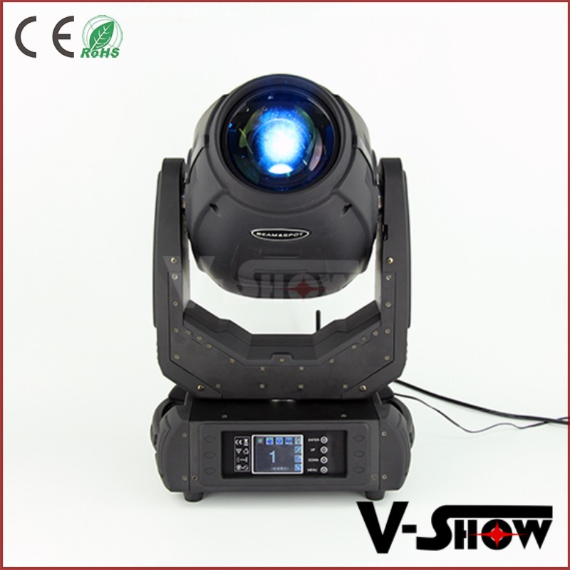 Dj equipment price stage lighting big dipper 17R beam 350W moving head flight case hot selling