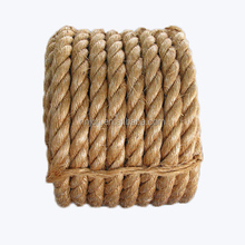 Acid-Resistance Manila Abaca Hemp Rope Marine & Packing Strands 100% Natural Hemp Fiber