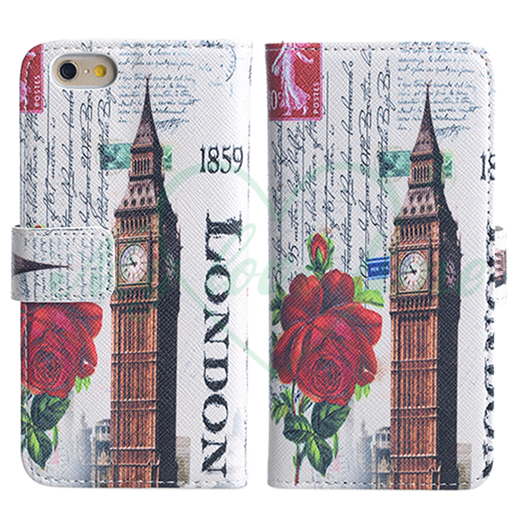 Printing PU Leather Phone Case for iPhone 6