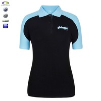 High quality new design women polo t shirt factory wholesale china