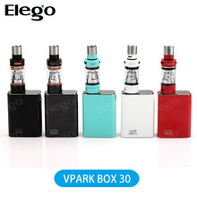 In stock!Originial Vpark 30W premium box mod kit ,vapor tanks atomizer vs 30w box mod 2ML tank atomizer e cigarette SUBTANK Mini
