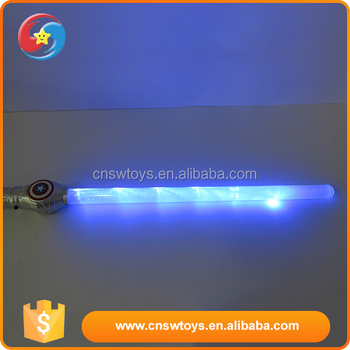 Kids funny toy customized plastic new style space flashing sword