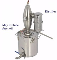 M1335 New innovative stainless steel home alcohol distiller,portable alcohol distiller 65L