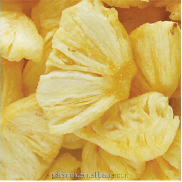 vegetable and fruit chips/pineapple chips