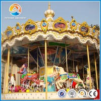 Amusement park ride hot sale product kids ride used carousel horse for sale