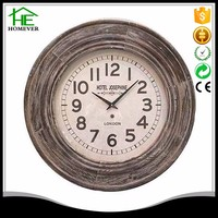 template wood wall clock