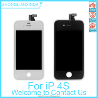 OEM LCD Screen Assembly With Frame for iPhone 4S High Quality LCD with Digitizer in Top Quality Black & White