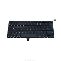 "New OEM FR french Layout Laptop Replacement Mechanical Keyboard For Laptop Apple MacBook Pro 13"" 2009-2012 A1278 Keyboard"