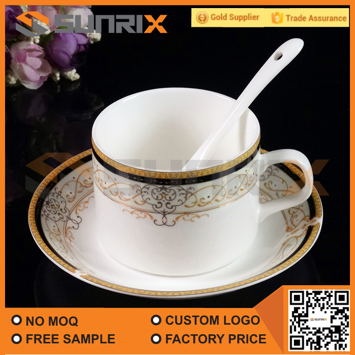 Porcelain Ceramic Type Cup and Saucer For Tea & Coffee
