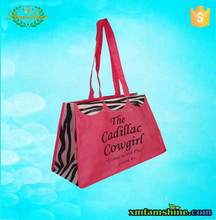 reusable non woven cute shop bags