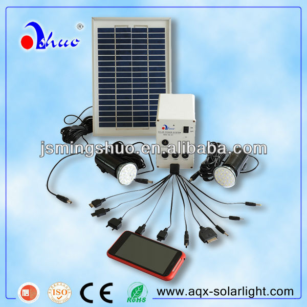 Portable Solar LED Light Systems for Indoor Use