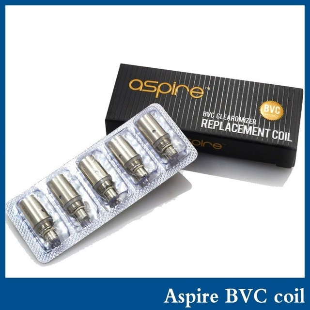Aspire bvc coils for aspire CE5 S ET-S VOVONOVA K1 Clearomizer Electronic Cigarette Bottom Vertical Coil