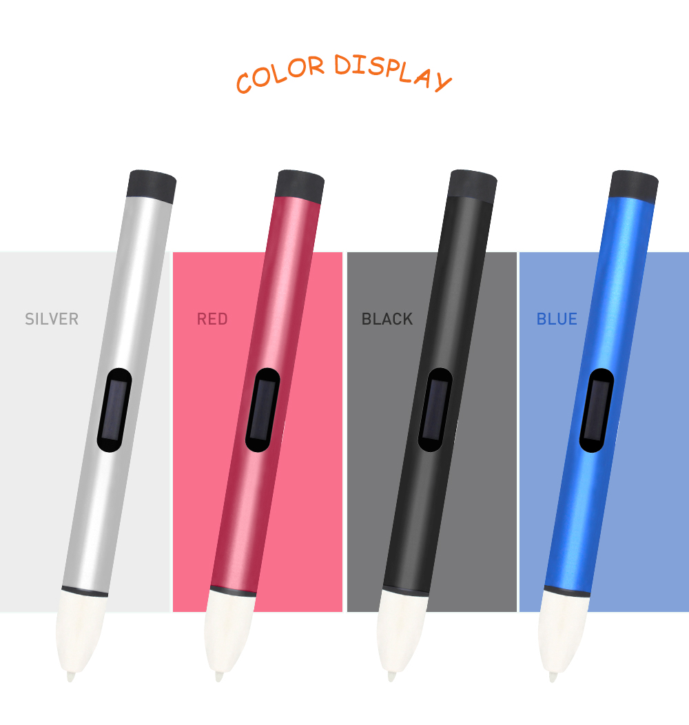 2017 Penobon 3d printer pen diy art 3d printing pen OEM customized for kids gift