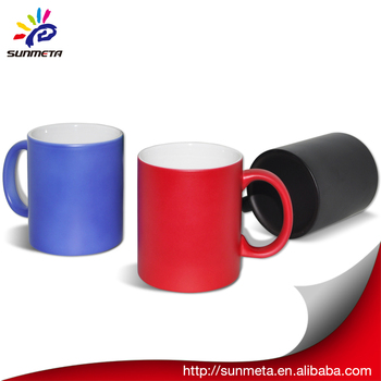 high quality low price color changing magic mug ,Personalised thermos mugs