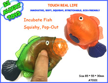 plastic squishy mouse pop out clown fish