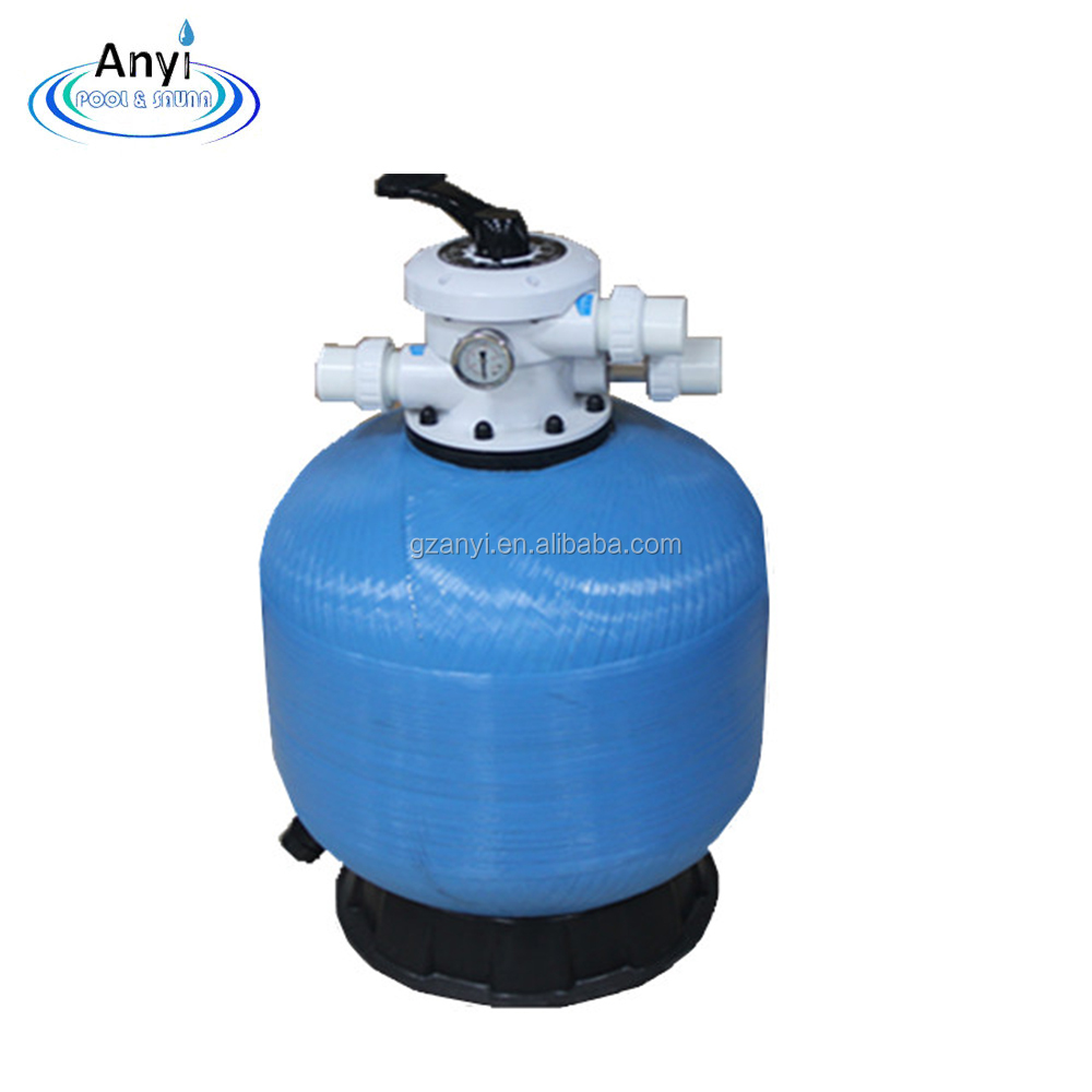 Swimming Pool Supplies Fiberglass Water Well Portable Swimming Pool Silica Sand Filter