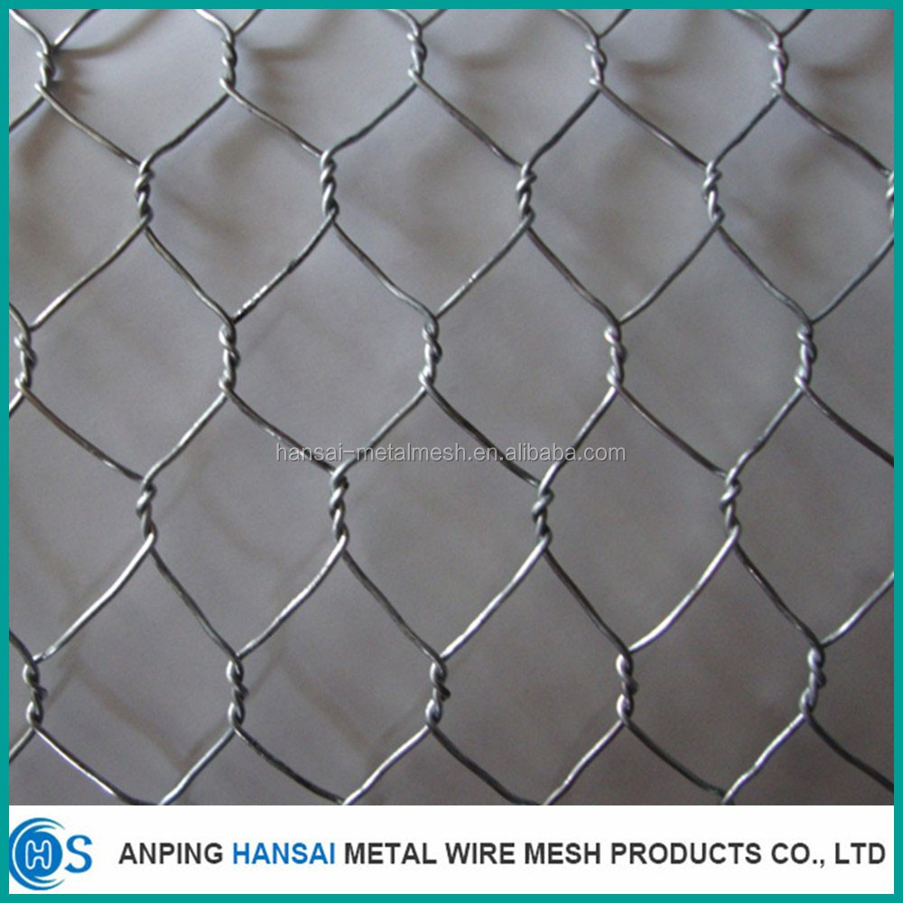 Chicken coope hexagonal wire mesh