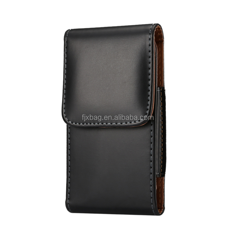 Universal High quality Pu leather Holster belt clip case cover for samsung galaxy note 4 note 5 note 3