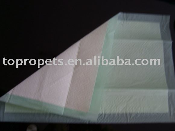disposable pet absorbable mat/one-off pet pad