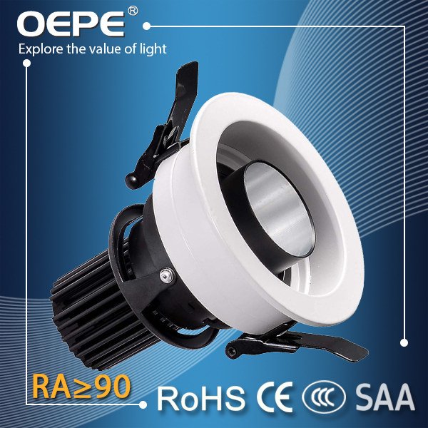 Ceiling mounted cob led downlight 20w 3000k