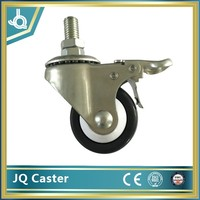 55mm pu caster wheel factory