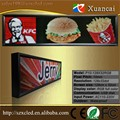 P10-128x32RGB outdoor waterproof full color programmable LED sign with USB disk communication control