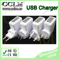 multi usb ports socket for cell phone tablet usb charger