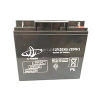 12V20AH rechargeable lead acid sealed lead AGM battery ebike battery made in china