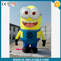 Hot sale inflatable Minion cartoon, advertising inflatable film minion character model