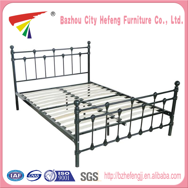 High quality queen size metal bed frame