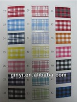 Grid Single Face Polyester Jacquard Ribbon Manufacturer