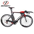 TT01 factory direct custom paint time trial carbon TT bike frame