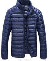 2016 Brand new ultra light winter men down polyester jacket wholesale